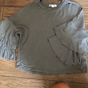 About a Girl Los Angeles sweater blouse